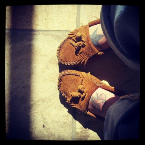 Moccasin love (Taken with Instagram)