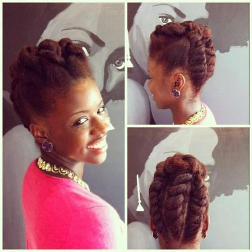 keekeers:  relaxtonatural:  Nice hair style  love it
