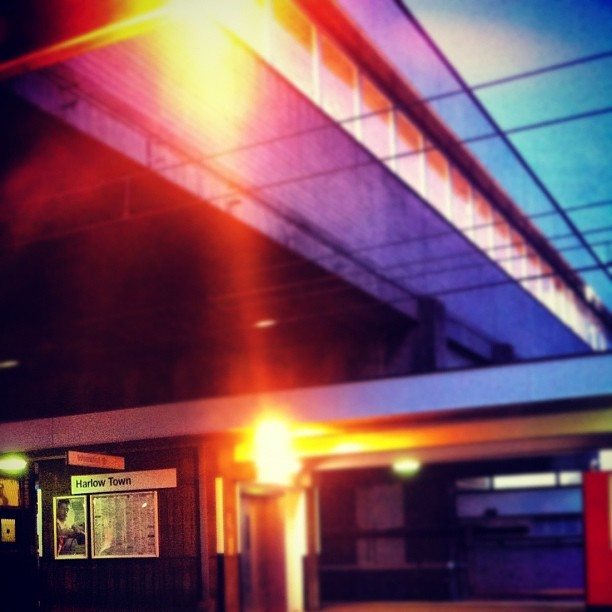 Harlow town (Taken with Instagram)