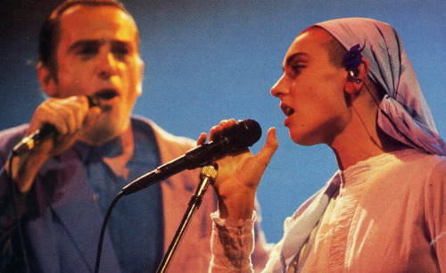 Peter Gabriel and Sinead O'Connor, Q Magazine, 1992.
