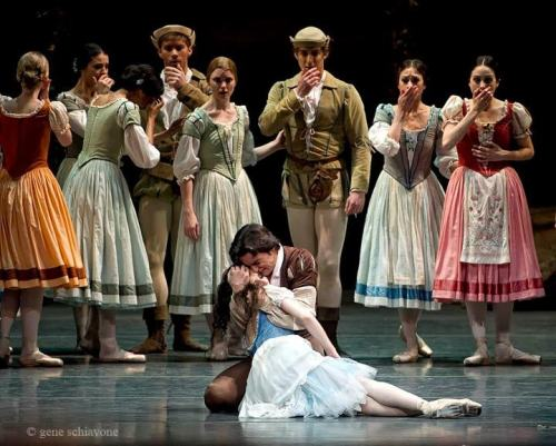 "myswancostume:  Alina Cojocaru and Angel Corella in ABT's ""Giselle"""
