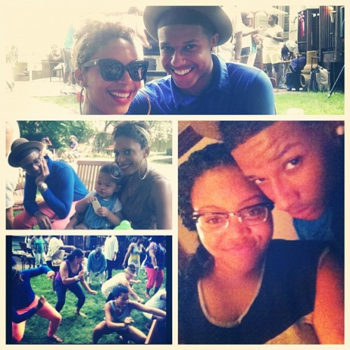 4th of July festivities. It was cute or whatever! (Taken with Instagram)