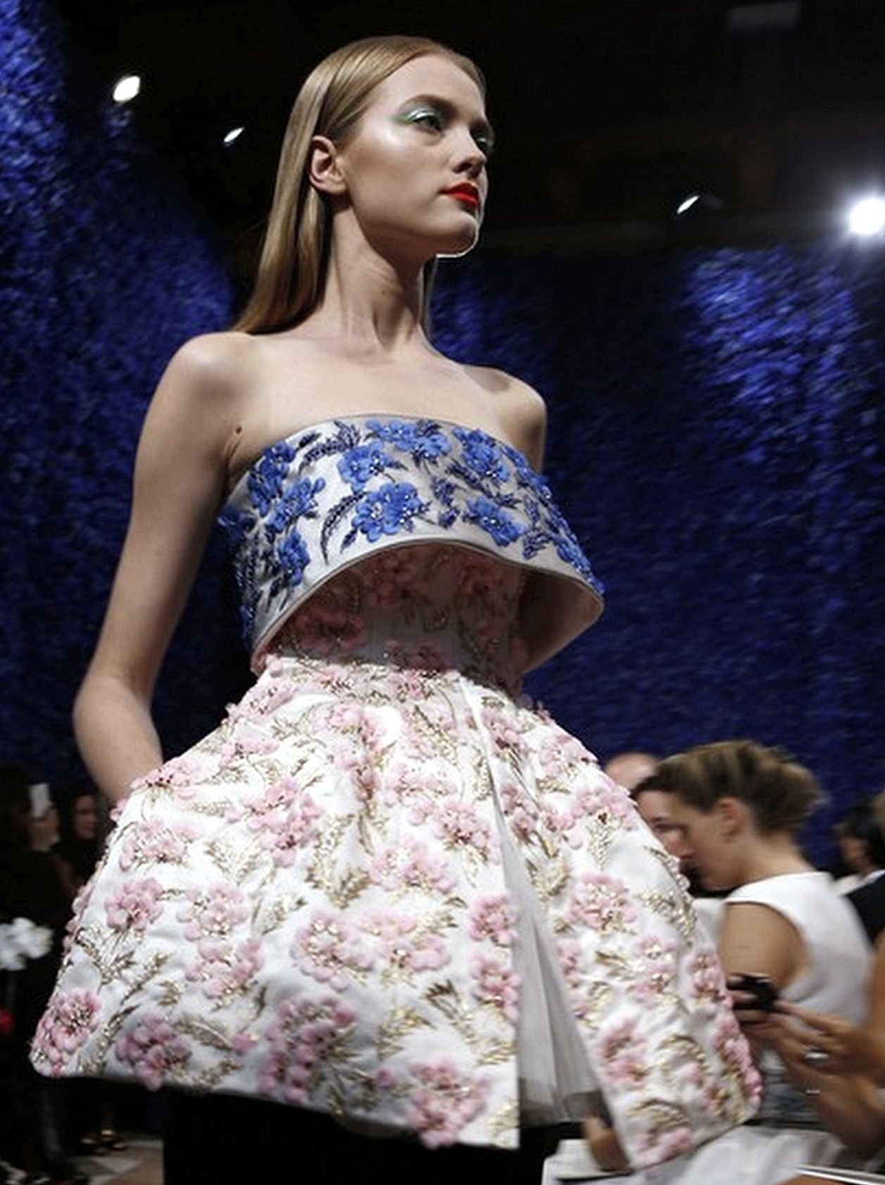 nomecalles:  Vlada Roslyakova at Christian Dior Haute Couture F/W 2012