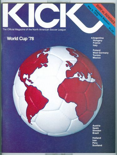 ClassicKick(official magazine of the NASL) cover from 1978.