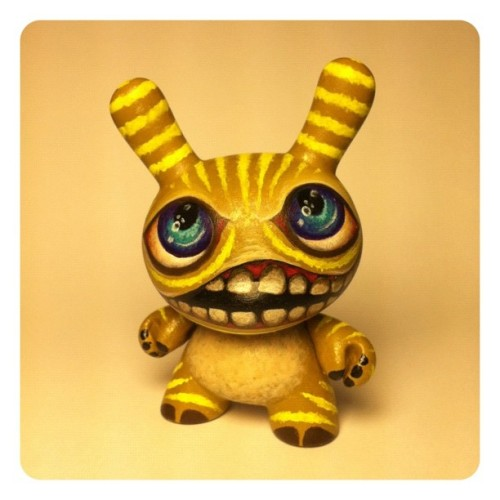 Custom #dunny hand painted with lunacy. (Taken with Instagram)