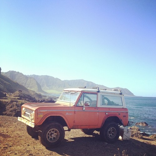 I still want to fix up an old bronco someday, then drive up the CA coast on a surf/camp trip.