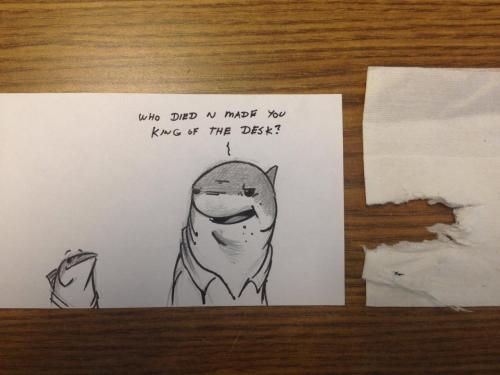 madamemorte:  doodleofboredom:  I do what I want.   OHMYGOD.