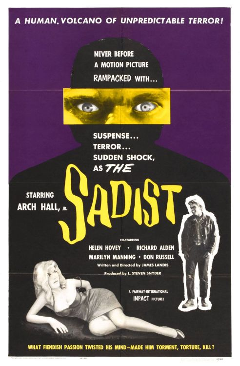 Films in 2012—#214 The Sadist (James Landis, 1963)