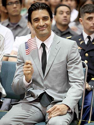 """I'm on cloud nine and I can't get down."" - French-born Gilles Marini, on becoming an American citizen, to PEOPLE"
