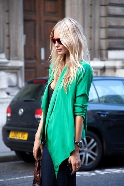 soullovelyfashion:  Green !