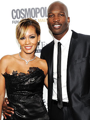 "peoplemag:  ""What if @EvelynLozada is a runaway bride when I get out there and I'm stuck looking good all by myself … did I mention looking good?"" - Chad Ochocinco, giving the play-by-play during his July 4 nuptials to Evelyn Lozada, on Twitter"