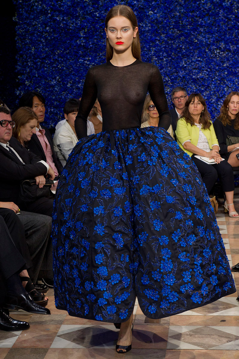 Christian Dior Fall 2012 Couture Go to Vogue.com for the full collection and review.