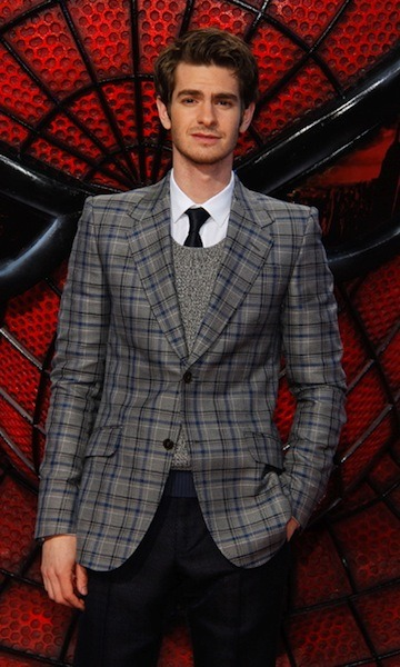 gqfashion:  Andrew Garfield. Nice threads, Spidey.