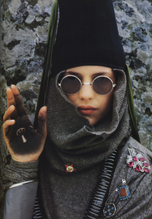 Albert Watson for Vogue Italia September 1984