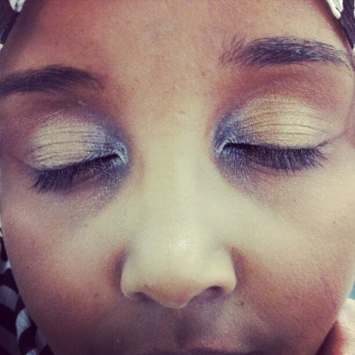 Did Sahra's #makeup in lab :) (Taken with Instagram at Steiner Institute Of Esthetics (Tempe Campus))