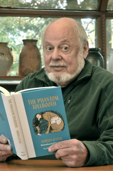 Norton Juster, author of The Phantom Tollbooth