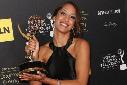 "Christel Khalil won a Daytime Emmy Award (Outstanding Younger Actress in a Drama Series) for her role as ""Lily"" on The Young and The Restless. (I am not ashamed to say that at various times through my adulthood and adolescence I watched this show. Not religiously, but from time to time. It was a good segue between classes in undergrad! Don't judge me!) (From time to time there have been some interesting story lines with the Black characters…you know you liked the days of ""Malcolm"" [Shemar Moore]!) Anyway, she looked fabulous!"