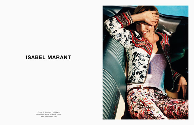 Arizona Muse, Isabel Marant,