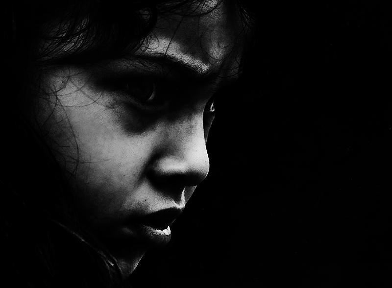 """Nameless"" Edited, Photography by - Lee Jeffries"