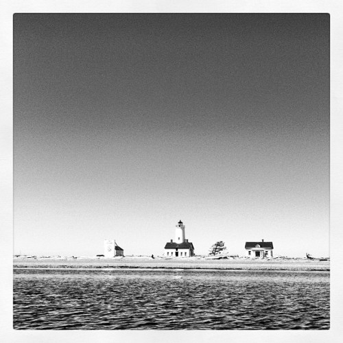 Dungeness #lighthouse in Sequim, WA on a gorgeous day! (Taken with Instagram at New Dungeness Lighthouse)