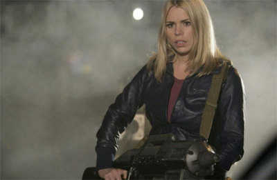 ktempest:  doctorwho:  'Doctor Who' Cosplay: How To Dress Like Rose Tyler via Anglophenia: 1: Hair – Blonde, straight, centre-parted, no bangs, collar-bone length. 2: Jacket – deep purple leather windcheater with elasticated cuffs and a zip-up front. Waist length. 3: Top -  deep pink sweater, scoop-necked and long enough to pop out of the bottom of the jacket to keep your bum warm. 4: Trousers – black. Straight legged or boot cut. Something a bit swishy around the ankle, is what we're after here. 5: Shoes – black and shiny, round-toed and ready for running about it. Let's not go mad with the heels. 6: Accessories – well apart from the massive Dalek-shooting gun, everything else is pretty minimal. No necklace or rings, some gold hooped earrings which remain tucked behind the hair. Warrior Rose keeps things simple. And if all of this seems a bit obvious, you can always copy the Union Flag T-shirt look (with attendant ringlets) in the photo at the top.  Also: show BBC America your best cosplay photos for a chance to win Doctor Who prizes: Enter here  Sigh. I know I shouldn't expect the Doctor Who Tumblr not to reinforce bullshit about how to cosplay, but… That list might as well say: 1 - Be White.  I'd kind of love to see a whole bunch of women of color enter as Rose.  Of course, it would probably start a shitstorm of ignorant assholes commenting that they should cosplay as Martha instead of Rose. But then, I desperately want to see, say, a female South Asian Doctor.  And we never will.