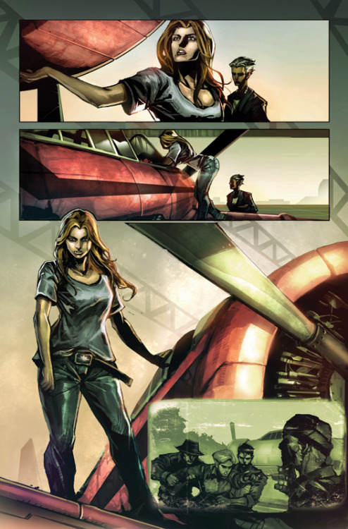 carolcorps:  cm2 by *nefar007 Preview from issue 2.  This is some good stuff!  I want that belt buckle.