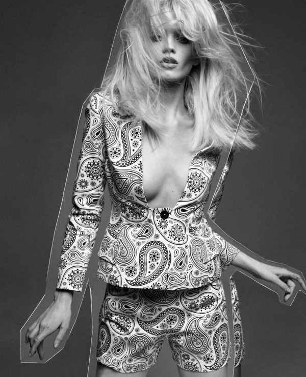"""Pop"" Abbey Lee Kershaw by Greg Kadel for Numero Magazine, May 2012… No.3"