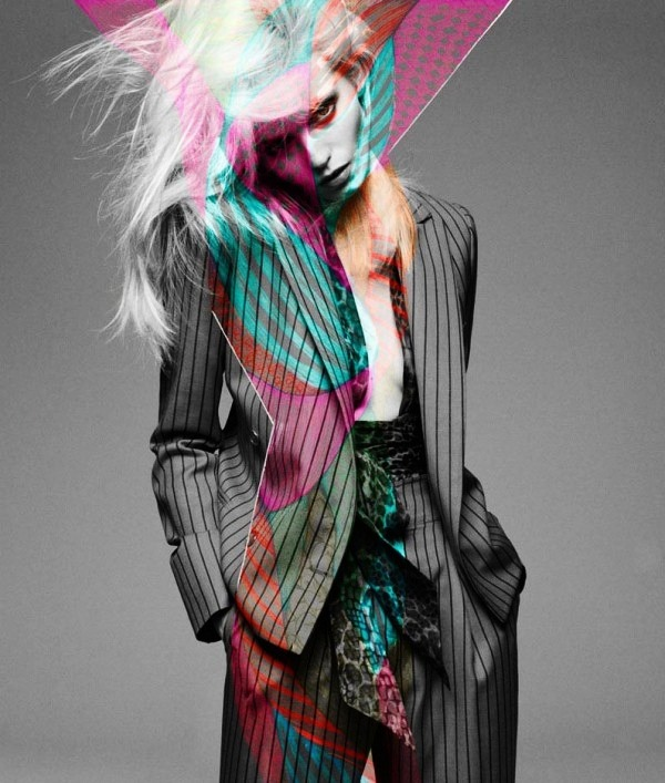 """Pop"" Abbey Lee Kershaw by Greg Kadel for Numero Magazine, May 2012… No.5"