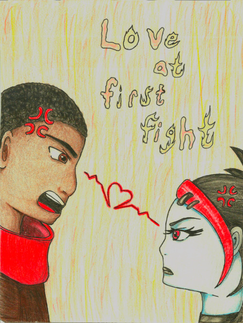 lilystell:  Love at First Fight by ~lilystell