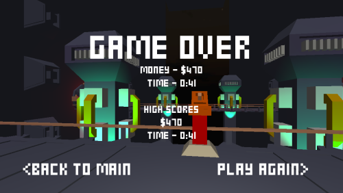 You can now get game over in Space Face. I guess that's something right? #progress
