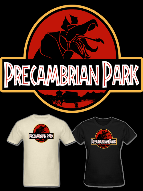 NEW Tremors Precambrian Park T Shirt! Before Dinosaurs there were Graboids and Shriekers.  Available in Mens and Womens sizes and a variety of colors. Follow Much Needed Merch on Tumblr and or Facebook (10% off code)