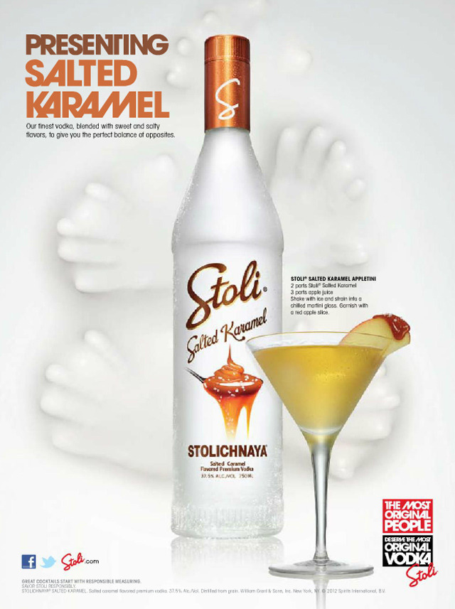 Stoli Salted Karamel Vodka  what. no way. get inside me.