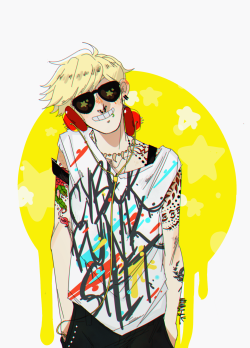 starrypier:  COLOR OVERLOAD (edit: I used refs for the tattoos, btw! these aren't my designs.)