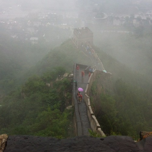 The great wall!! #china #beijing #great #wall (Taken with Instagram)