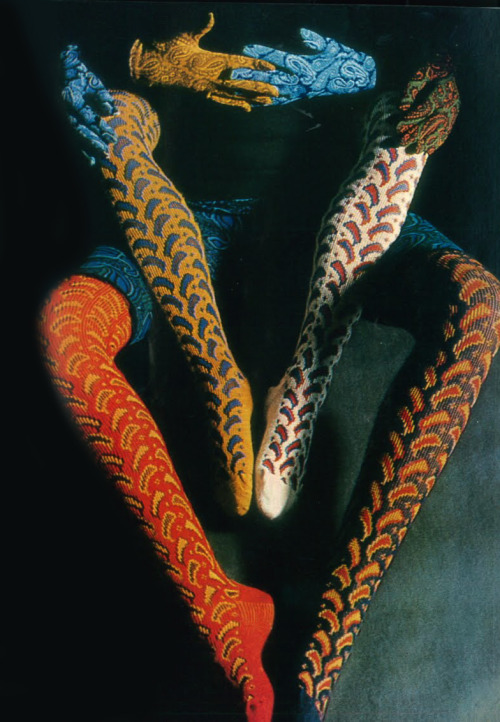 AMAZING LEGGINGS! Photo by David Bailey, 1965.