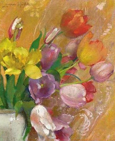 Laura Coombs Hills Tulips 20th century