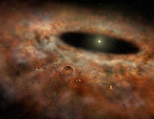 Dust Today, Gone Tomorrow: Astronomers Discover Houdini-Like Vanishing Act in Space ScienceDaily (July 5, 2012) — Astronomers report a baffling discovery never seen before: An extraordinary amount of dust around a nearby star has mysteriously disappeared. Continue Reading