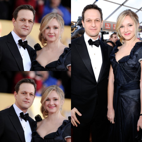 Josh Charles and Sophie Flack at the Emmys