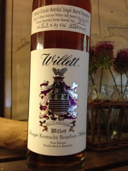 Willett 11 YO SB.