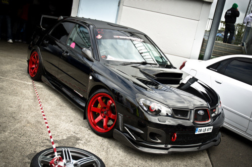 Featuring: Subaru Impreza WRX Sti  Do want.