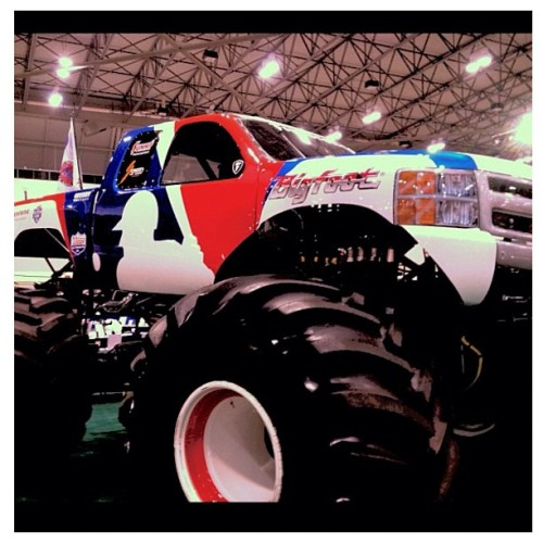 Disgusting. #MLB #monstertruck #filthy (Taken with Instagram)