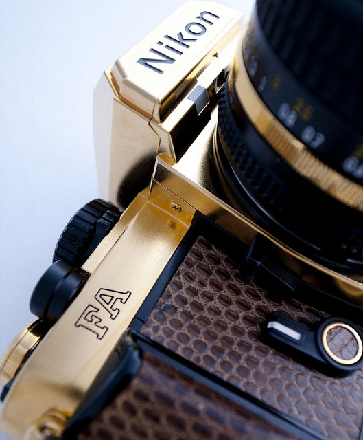 themaxdavis:  Nikon FA Gold edition by Japancamerahunter on Flickr.