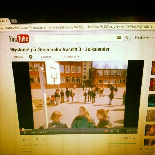 #photoadayjuly #day4 #fun #retro #memories #youtube #mysteriet #på #greveholm #julkalender #svensk #swedish #children #barnetv (Taken with Instagram)