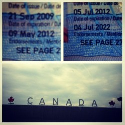 Journey to Canada all happened in 15 hours #pcnak #random #passport #renew #picstitch #canada #igdaily #instahub #instagood #instamood #popular #followme #follow  (Taken with Instagram at Downtown Hamilton)