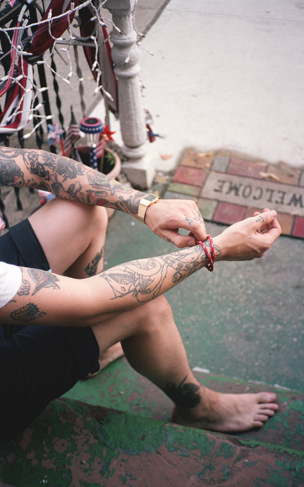 svnity:  tatted-angels:  graysonvaughanblog:  billy.  i wish i could get my tats :(  te chinga tu madre if you get tats nigger^