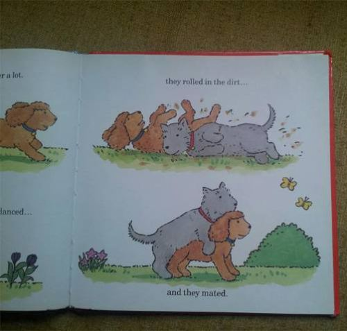 Who the hell is writing children's books these days????