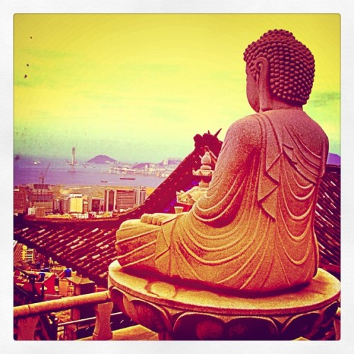 Buddha Vista (temple in Donggu) (Taken with Instagram at Busan, South Korea)
