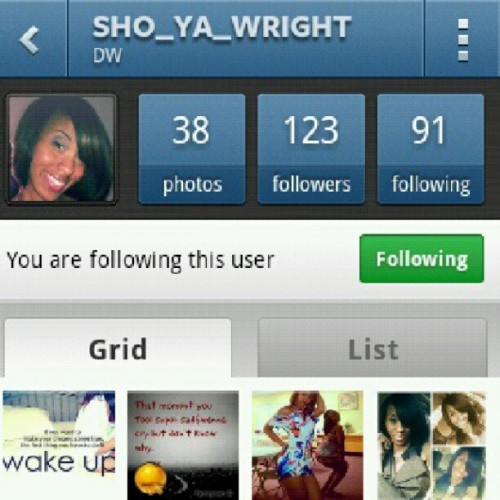 #shoutoutto @sho_ya_wright for being my 500th follower. #follow her (Taken with Instagram)