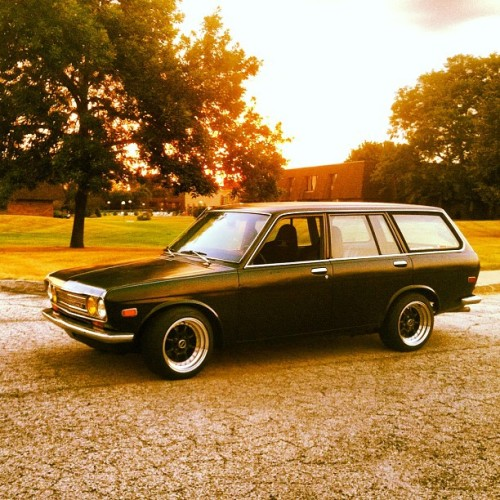My Datsun 510 (Taken with Instagram)