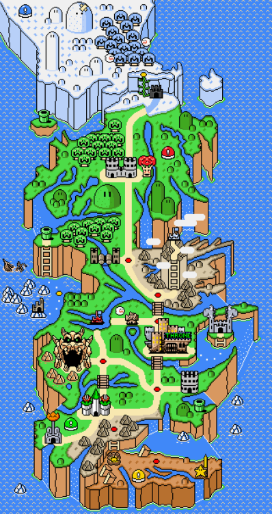 phetdreams:  Game of Thrones, Mushroom kingdom style.